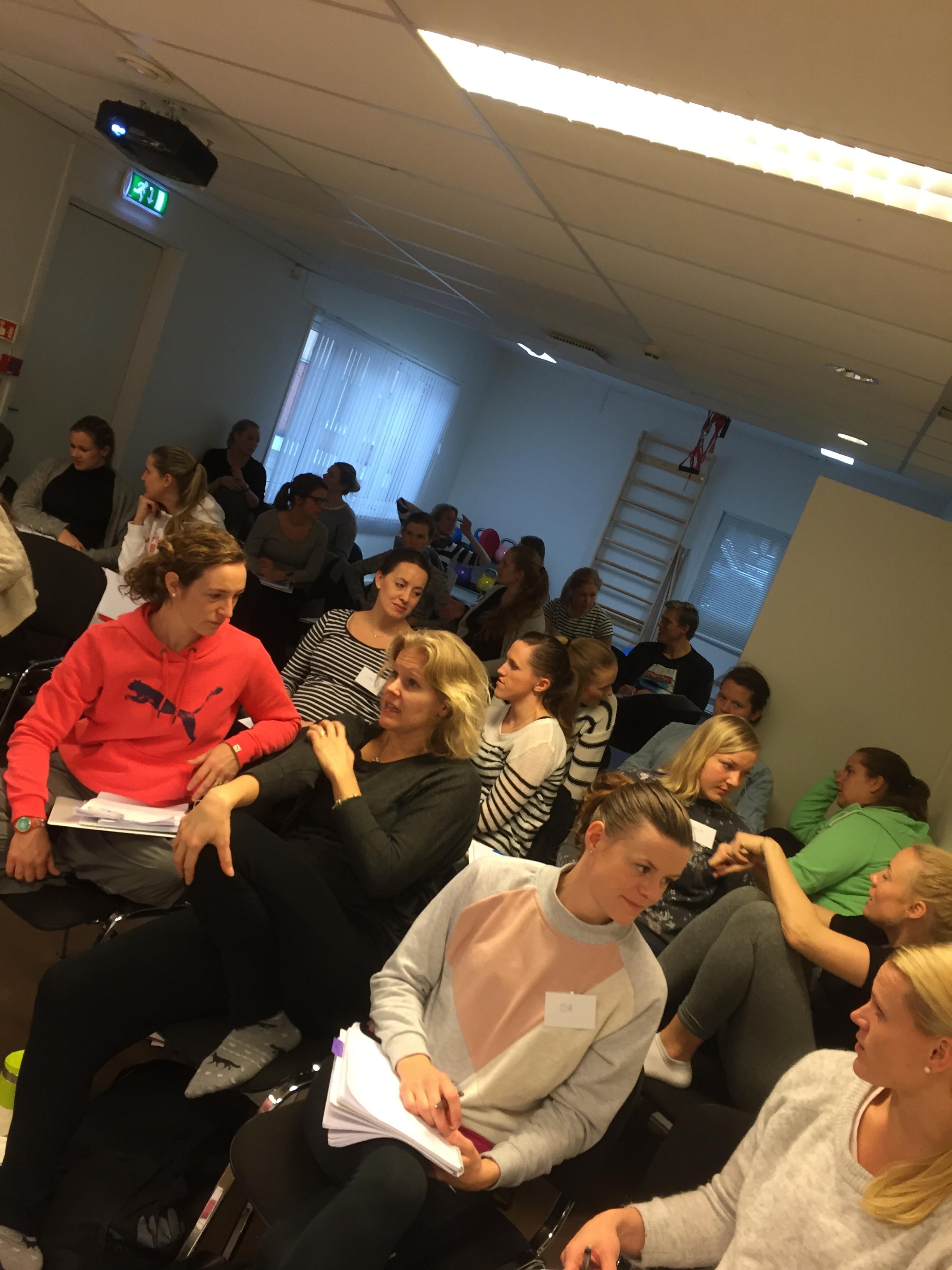 Nya utbildade tränare i Norge