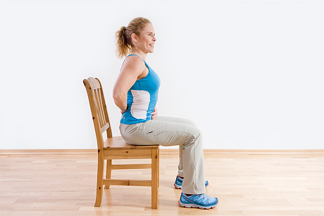 Sitta eller stå upp och träna – spelar det någon roll?